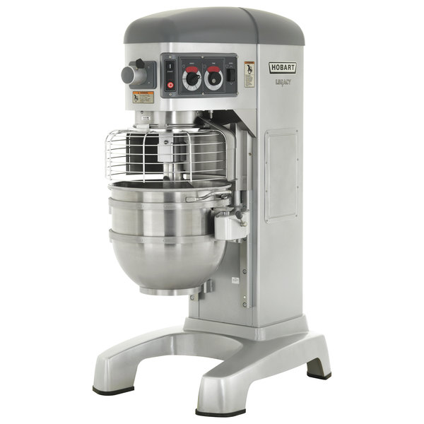 Hobart Legacy HL600-2STD 60 Qt. Planetary Floor Mixer with Guard & Standard Accessories - 460V, 3 Phase, 2 7/10 hp Main Image 1