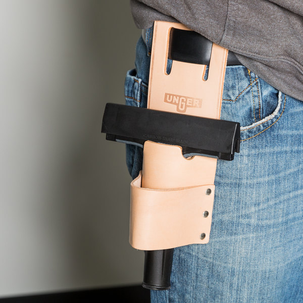 Unger HT000 Window Cleaning Leather Holster
