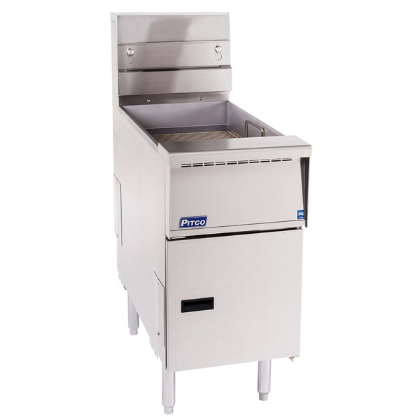 Pitco SG-BNB-14 Solstice Bread and Batter Cabinet Fry Dump Station