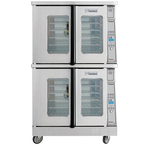 Garland MCO-GD-20 Liquid Propane Double Deck Deep Depth Full Size Convection Oven with Digital Controls - 120,000 BTU Main Image 1