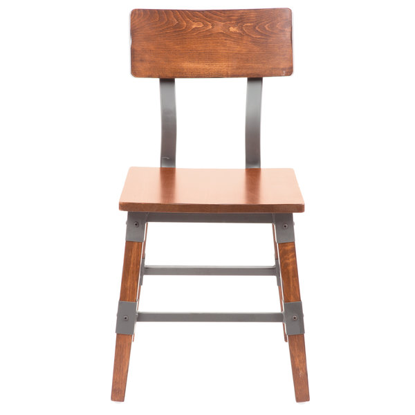 Add A Rustic Element With Contemporary Flair To Your Dining Area With This  Lancaster Table U0026 Seating Rustic Industrial Dining Side Chair.