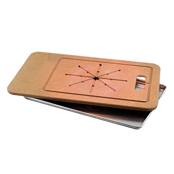 """Cres Cor 1415-028 30 1/2"""" x 20"""" Richlite Cutting Board with Pan"""