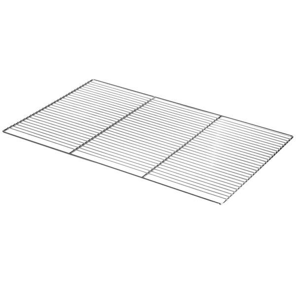 "Cres Cor 1170-035 21 5/8"" x 32"" Chrome Plated Wire Shelf"