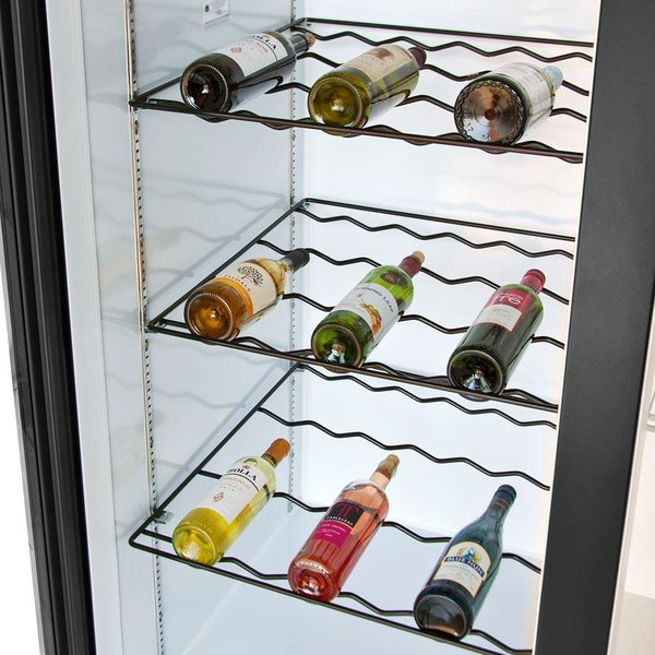 Beverage-Air 403-907D-02 Black Colored Wine Rack for LV49 and MMR49 Series Main Image 2