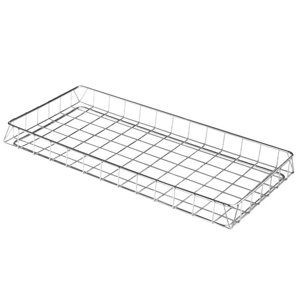 """Cres Cor 1170-018 18"""" x 26"""" Chrome Plated Wire School Basket"""