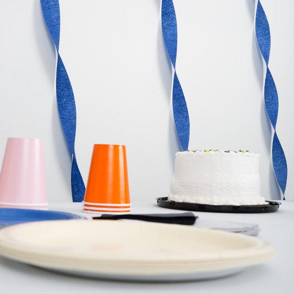 Creative Converting 078137 81' Navy Blue Streamer Paper