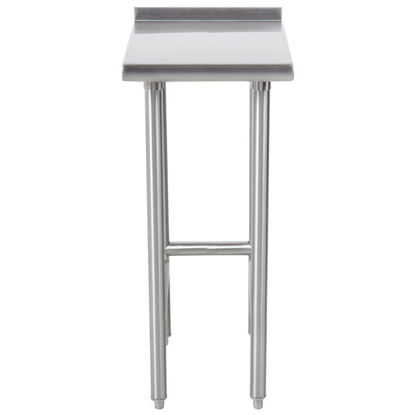"""Advance Tabco TFMS-150 15"""" x 30"""" Equipment Filler Table"""