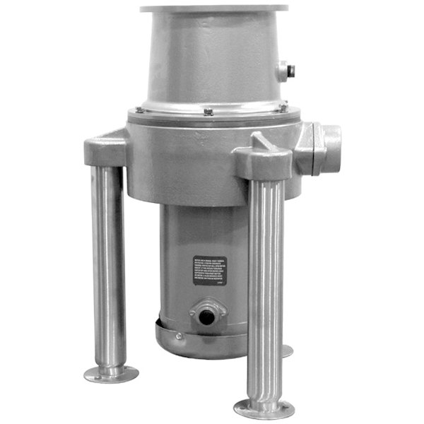 Hobart FD4/200-2 Commercial Garbage Disposer with Adjustable Flanged Feet - 2 hp, 115/230V Main Image 1