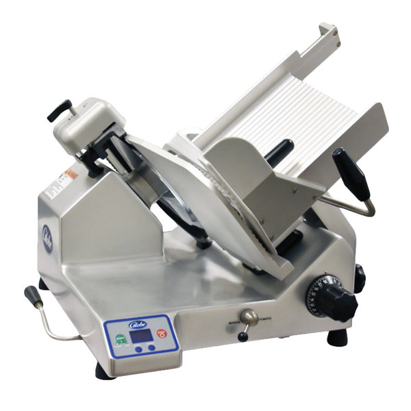 "Globe SG13A 13"" Heavy-Duty Advanced Automatic Meat Slicer - 1/2 hp"