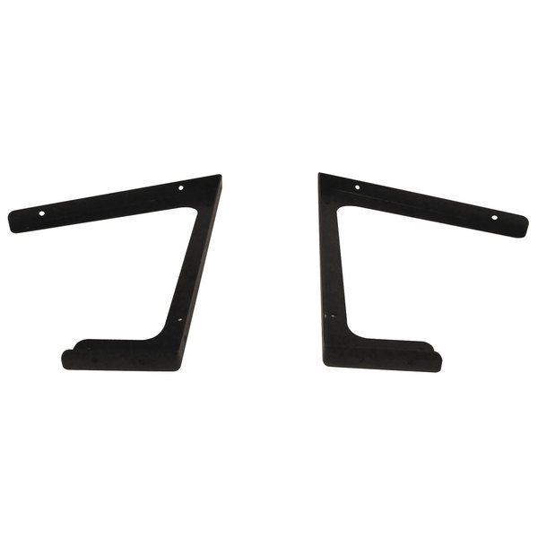 Advance Tabco SU-P-317 Buffet Table Food Shield Support Brackets - 2/Set Main Image 1