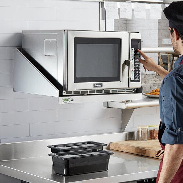 18 Stainless Steel Microwave Shelf