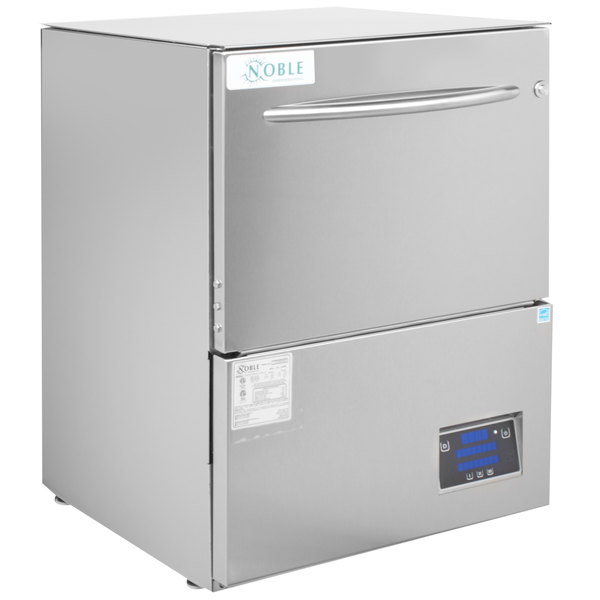 Noble Warewashing UH30-E Energy Efficient High Temp Undercounter Dishwasher - 208/230V Main Image 1