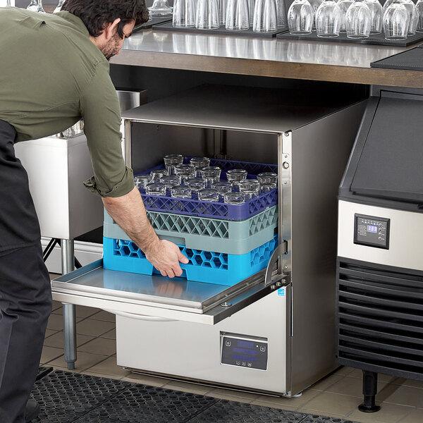 Noble Warewashing UH30-E Energy Efficient High Temp Undercounter Dishwasher - 208/230V Main Image 5