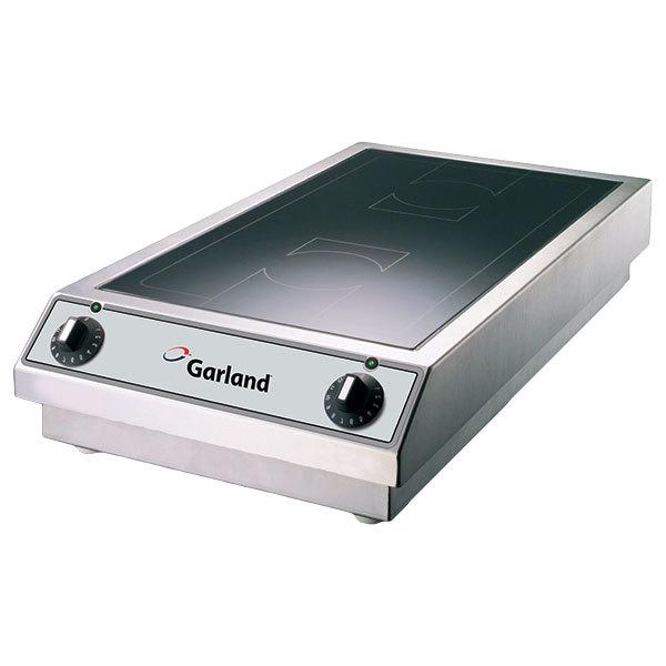 Garland SH/DU/BA 7000 Dual Countertop Induction Range - 208V, 3 Phase, 7000W