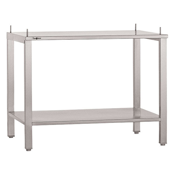 """Garland A4528797 24"""" x 26 1/4"""" Stainless Steel Equipment Stand Main Image 1"""