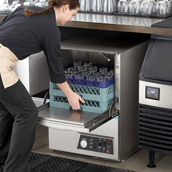 Noble Warewashing UL30 Low Temperature Undercounter Dishwasher - 115V Main Image 6