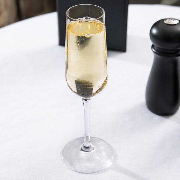 Stolzle 3770007T Revolution Sparkling 7 oz. Champagne Flute - 6/Pack