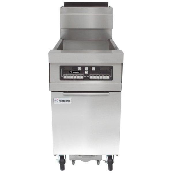 Frymaster HD150G Natural Gas 50 lb. High-Efficiency Floor Fryer with CM3.5 Controls - 100,000 BTU Main Image 1