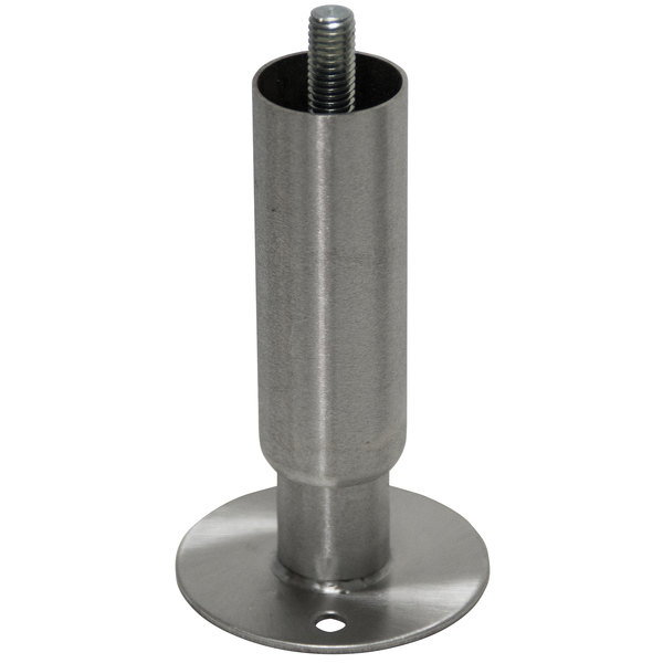 Advance Tabco TA-19L Bolt-On Flanged Stainless Steel Leg Main Image 1