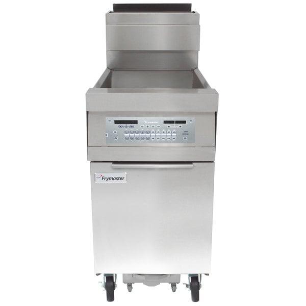 Frymaster HD160G Liquid Propane 80 lb. High-Efficiency Floor Fryer with SMART4U 3000 Controls - 125,000 BTU