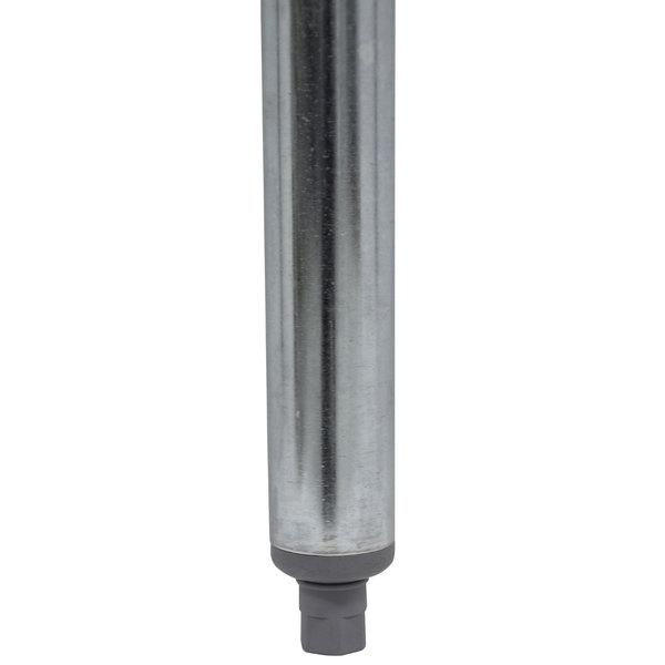 "Advance Tabco TA-16 34 1/2"" Galvanized Steel Leg Main Image 1"