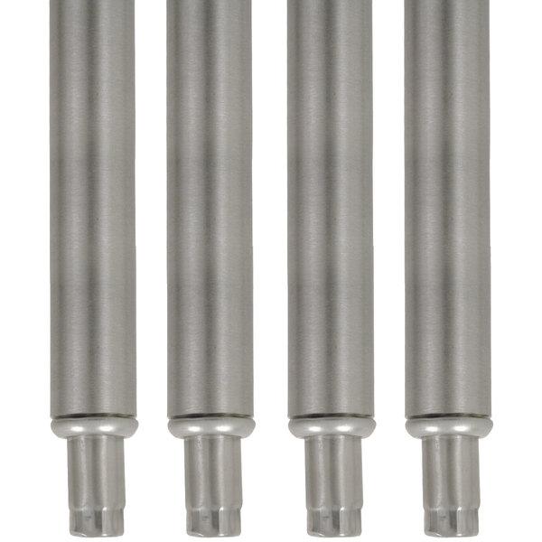"Advance Tabco TA-20-4 34 1/2"" Stainless Steel Legs - 4/Set"