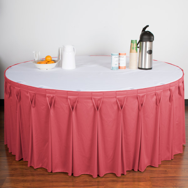 Snap Drape WYNVDUS Wyndham X Dusty Rose Bow Tie - Conference table skirts