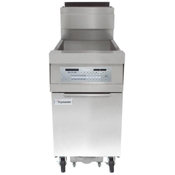 Frymaster HD150G Liquid Propane 50 lb. High-Efficiency Floor Fryer with SMART4U 3000 Controls - 100,000 BTU
