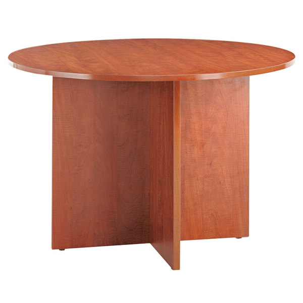 "Alera ALEVA7142MC Valencia 42"" Round Medium Cherry Conference Table"