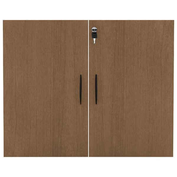 """Alera ALEVA632832WA Valencia Series 31 1/4"""" Walnut Cabinet Door Set"""