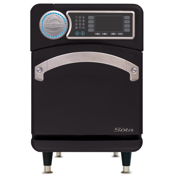 TurboChef Sota Single Mag High-Speed Accelerated Cooking Countertop Oven with Touch Controls- 208/240V Main Image 1