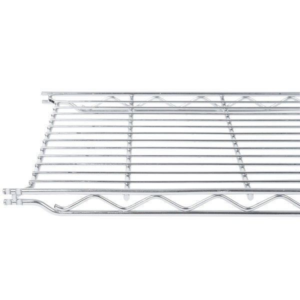 "Metro 1242C 12"" x 42"" Erecta Chrome Wire Shelf"