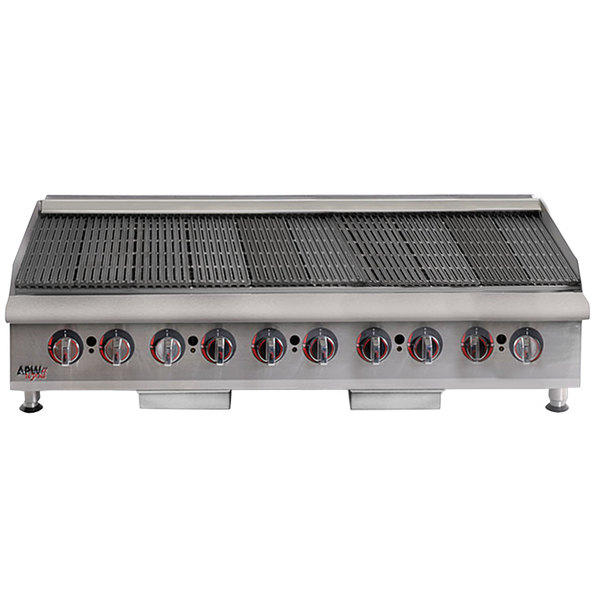 "APW Wyott HCB-2460i Liquid Propane 60"" HD Cookline Radiant Charbroiler - 200,000 BTU"