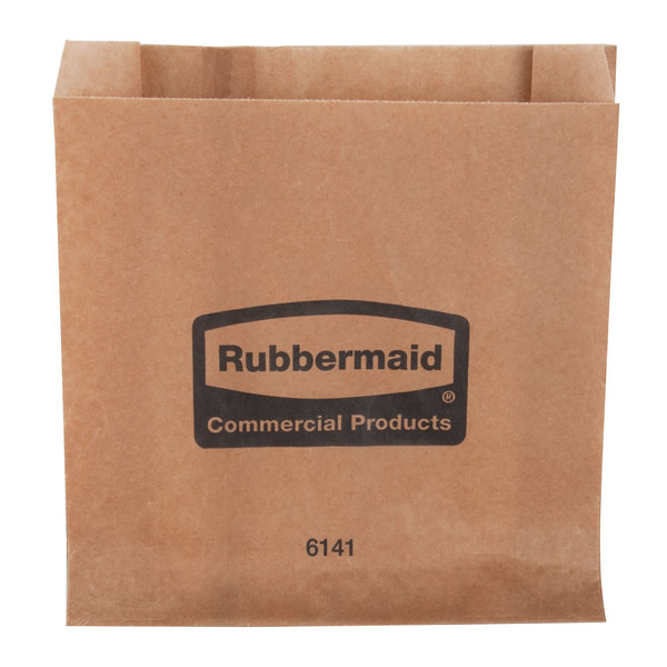 Rubbermaid FG6141000000 Sanitary Napkin Receptacle Bags - 250/Case Main Image 1