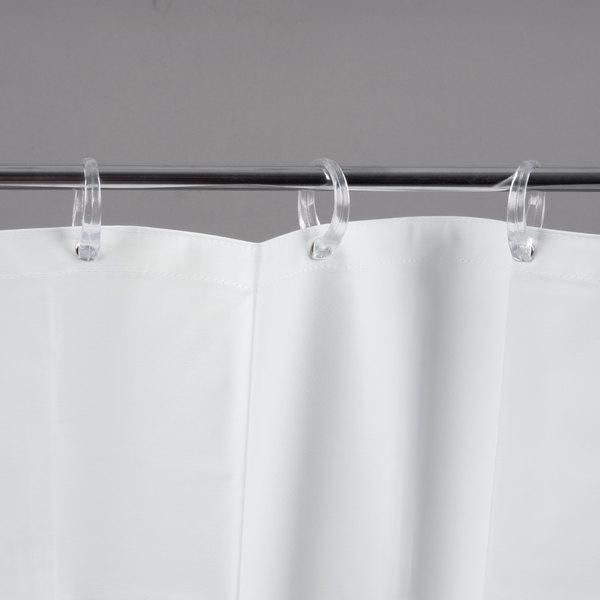 Bobrick 204 3 White Vinyl Shower Curtain