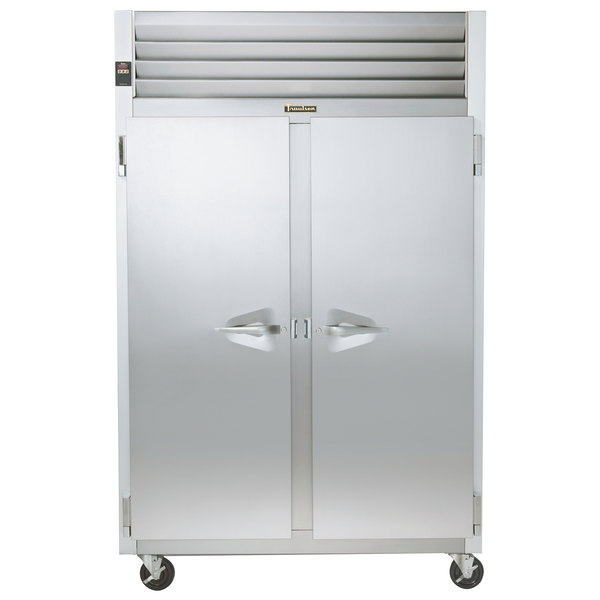 Solid Door Hot Food Holding Cabinet With Left / Right Hinged Doors