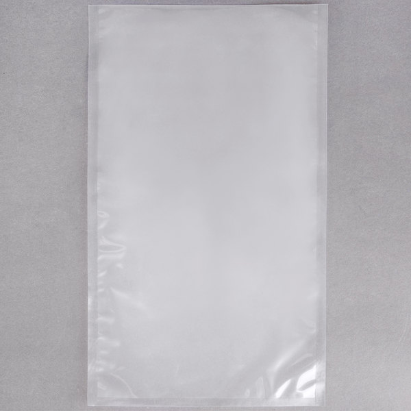 """ARY VacMaster 30745 10"""" x 18"""" Chamber Vacuum Packaging Pouches / Bags 3 Mil - 500/Case"""
