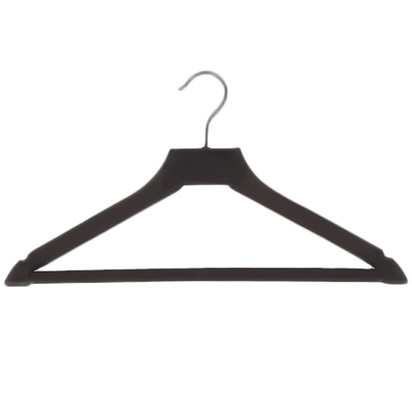 CSL 1160 Brown Plastic Open Hook Hanger - 72/Case