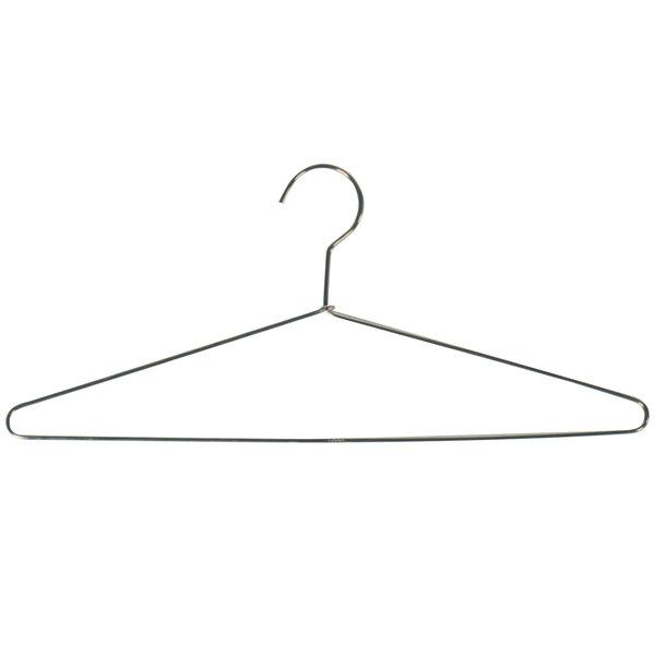 CSL 1062 Metal Open Hook Hanger - 50/Case Main Image 1