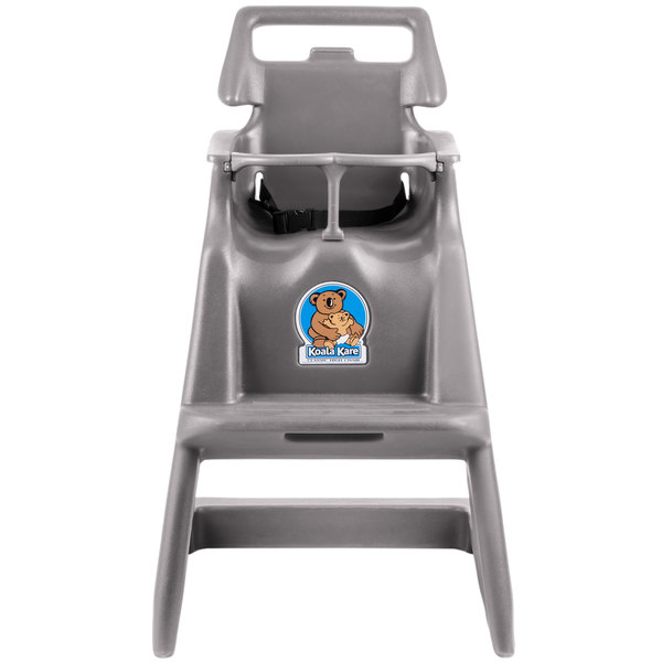 Koala Kare KB103-01 Classic High Chair with Wheels - Gray