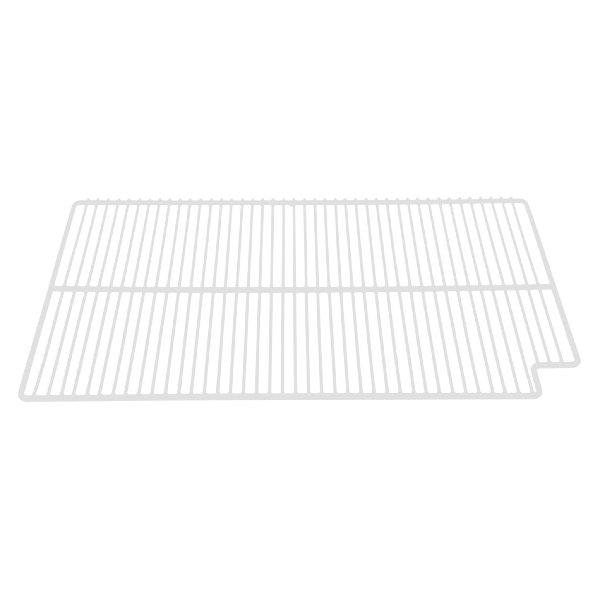 "True 908785 White Coated Left Wire Shelf - 27 1/2"" x 16"""