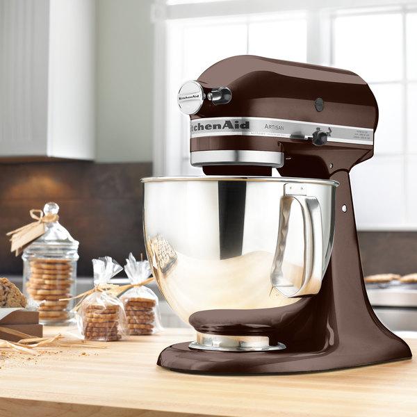 KitchenAid KSM150PSES Espresso Artisan Series 5 Qt. Countertop Mixer