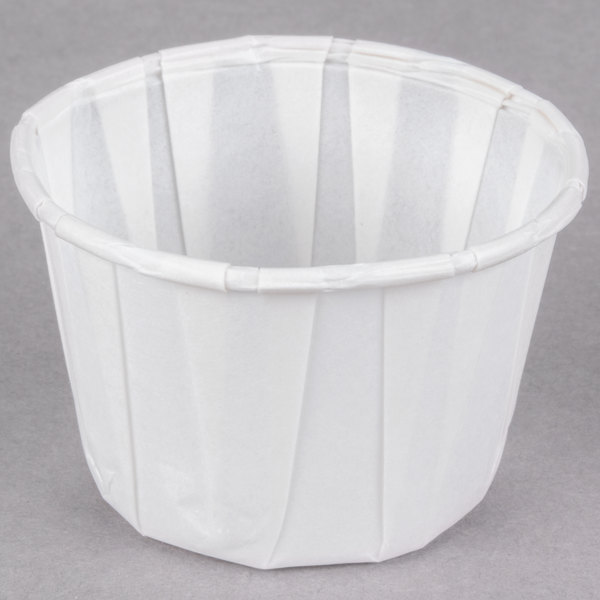 Dart Solo 200-2050 2 oz. White Paper Souffle / Portion Cup - 250/Pack
