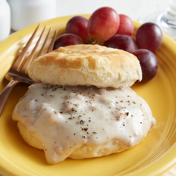 Vanee 590PX #10 Can Country Style Sausage Gravy - 6/Case Main Image 2