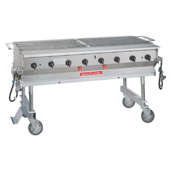 "MagiKitch'n LPAGA-60 Aluminum MagiCater 60"" Portable Outdoor Grill"