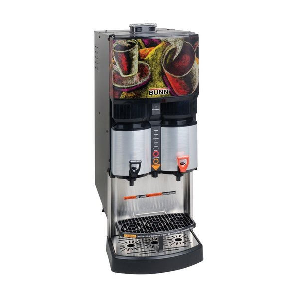 """Bunn 34400.0208 14"""" Coffee Dispenser Adapter Kit with 3/16"""" Hose, Clamps, Connector, and 30 oz. Lube Compound for Bunn Liquid Coffee Dispensers Main Image 1"""