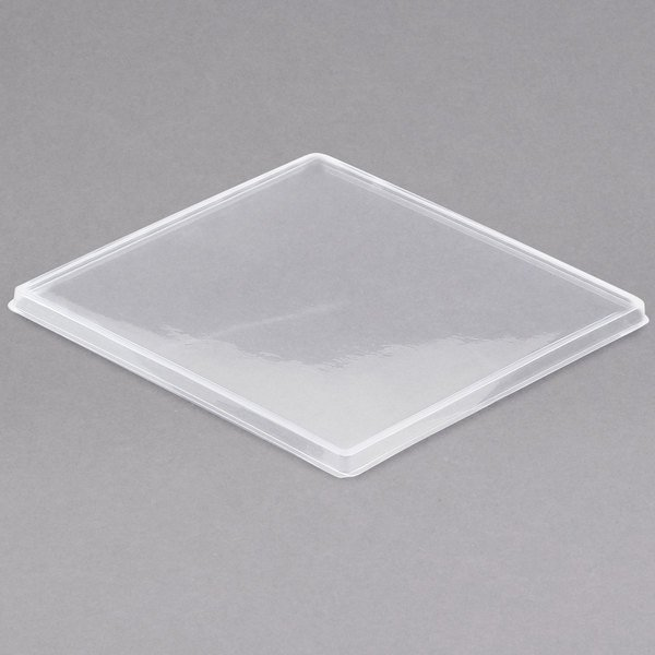 """Cal-Mil 1393-LID Cater Choice Lid for Melamine Boxes - 10"""" x 10"""""""