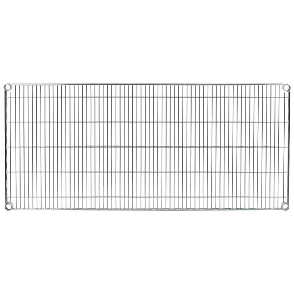 "Metro 2454NS Super Erecta Stainless Steel Wire Shelf - 24"" x 54"""