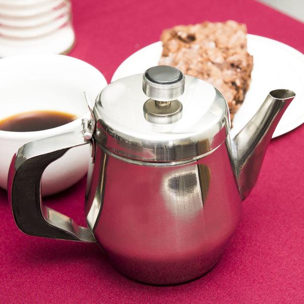 Vintage Coffee Pot Pin Item K # 334