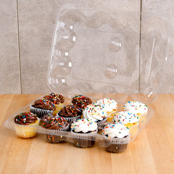 12 cavities 1 Dozen Cupcake Container 12 ct.